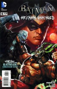 Batman: Arkham Unhinged #6 (2012)
