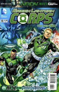 Green Lantern Corps #13 (2012)