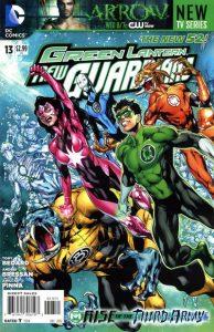 Green Lantern: New Guardians #13 (2012)