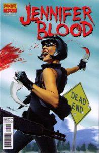 Jennifer Blood #20 (2012)