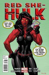 Red She-Hulk #58 (2012)