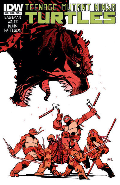 Teenage Mutant Ninja Turtles #16 (2012)