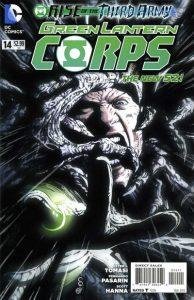 Green Lantern Corps #14 (2012)