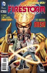 Fury of the Firestorms: The Nuclear Men #14 (2012)
