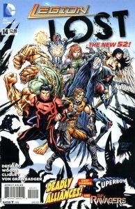 Legion Lost #14 (2012)