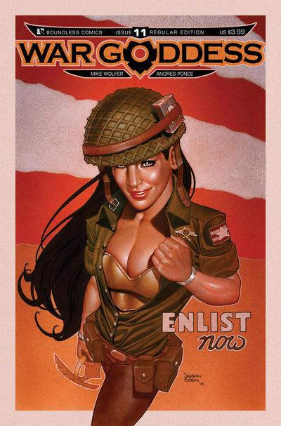 War Goddess #11 (2012)