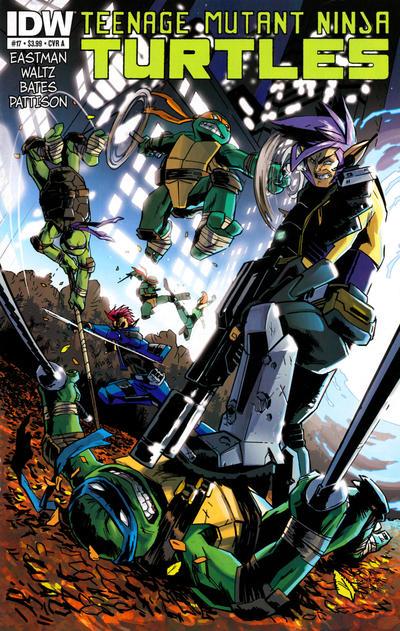Teenage Mutant Ninja Turtles #17 (2012)