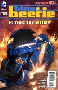 Blue Beetle #15 (2012)