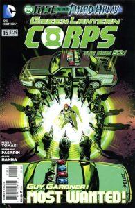 Green Lantern Corps #15 (2012)