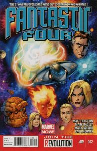 Fantastic Four #2 (2012)