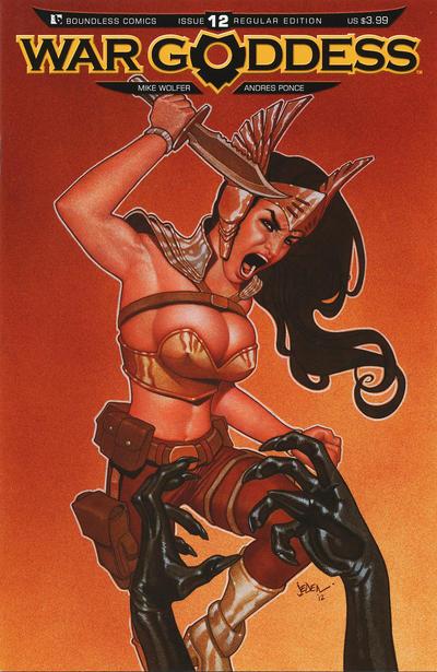 War Goddess #12 (2013)
