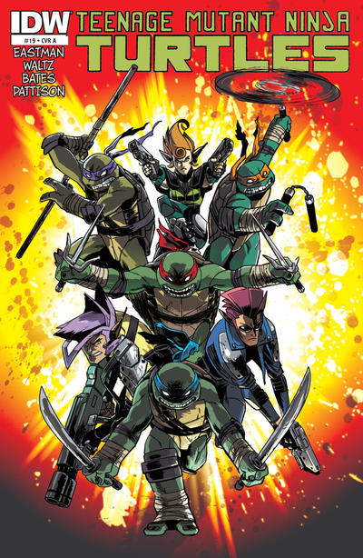 Teenage Mutant Ninja Turtles #19 (2013)