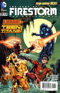 Fury of the Firestorms: The Nuclear Men #17 (2013)