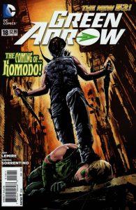 Green Arrow #18 (2013)