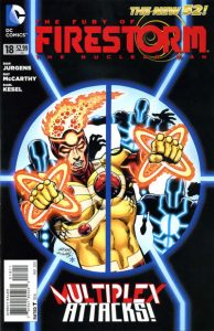 Fury of the Firestorms: The Nuclear Men #18 (2013)