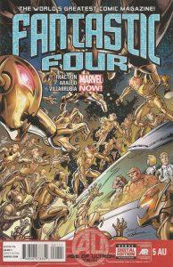 Fantastic Four #5AU (2013)