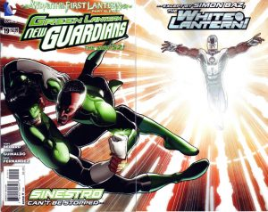 Green Lantern: New Guardians #19 (2013)
