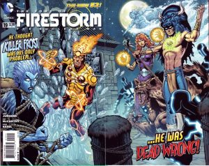 Fury of the Firestorms: The Nuclear Men #19 (2013)