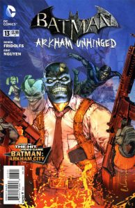 Batman: Arkham Unhinged #13 (2013)