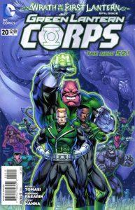 Green Lantern Corps #20 (2013)