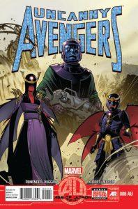 Uncanny Avengers #8AU (2013)