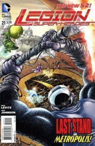 Legion of Super-Heroes #21 (2013)