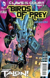 Birds of Prey #21 (2013)