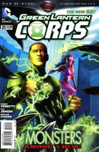 Green Lantern Corps #21 (2013)