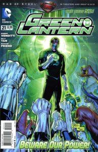 Green Lantern #21 (2013)