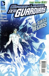 Green Lantern: New Guardians #21 (2013)
