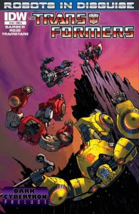 The Transformers: Robots in Disguise #18 (2013)
