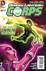Green Lantern Corps #23 (2013)