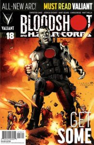 Bloodshot and H.A.R.D.Corps #18 (2014)
