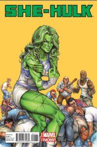 She-Hulk #1 (2014)