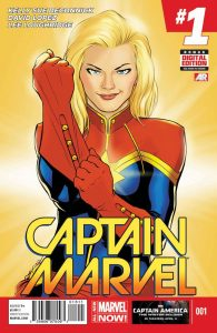 Captain Marvel #1 (2014)