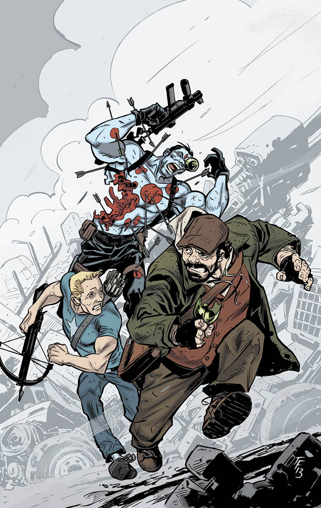 Bloodshot and H.A.R.D.Corps #21 (2014)