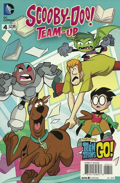 Scooby-Doo Team-Up #4 (2014)