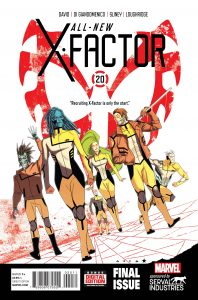 All-New X-Factor #20 (2015)