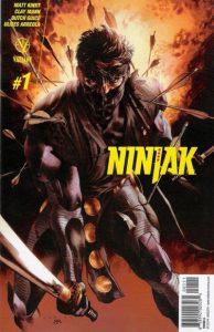 Ninjak #1 (2015)