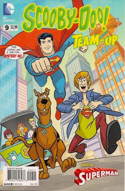 Scooby-Doo Team-Up #9 (2015)