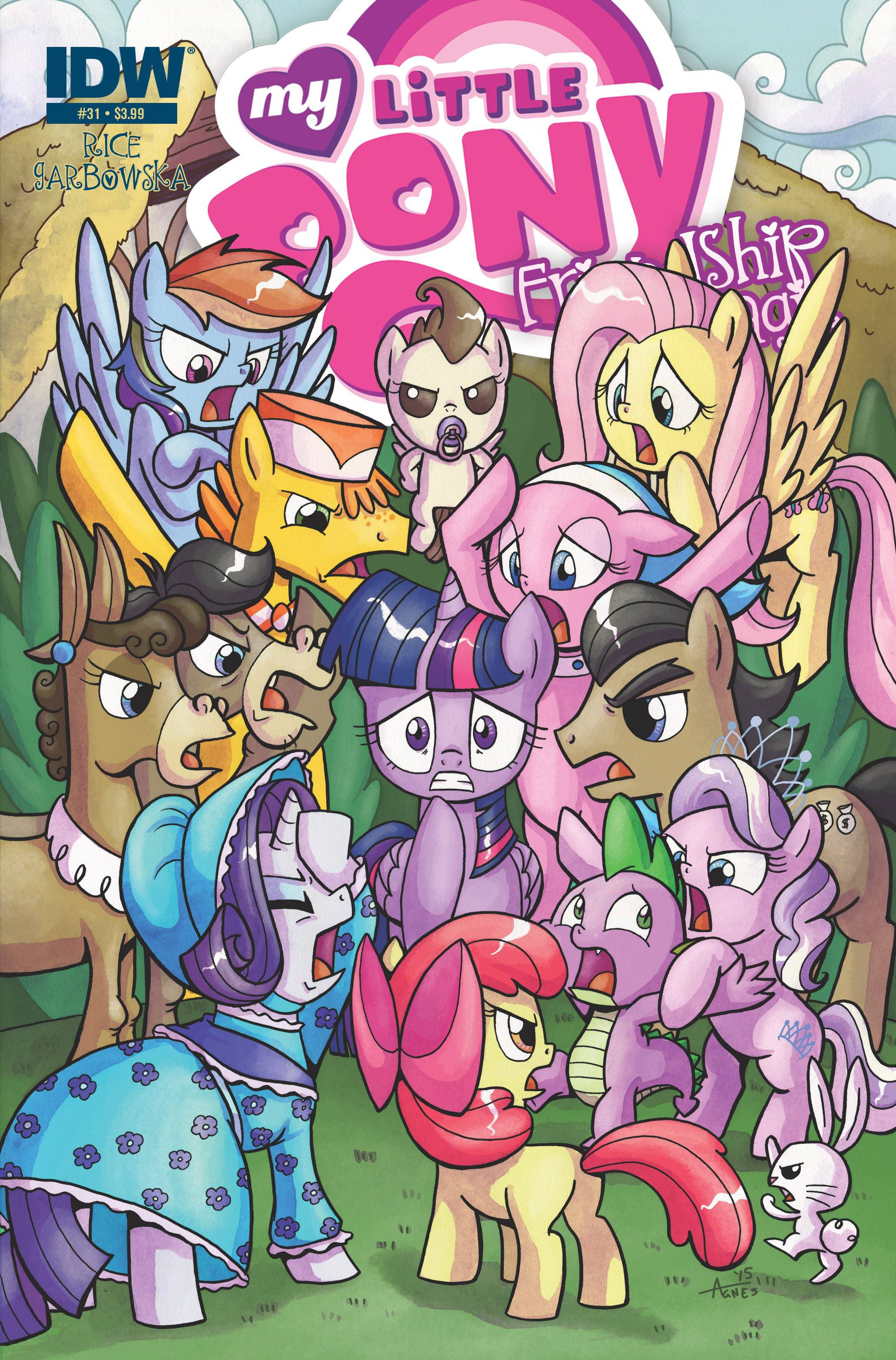 My Little Pony: Friendship Is Magic #31 (2015)