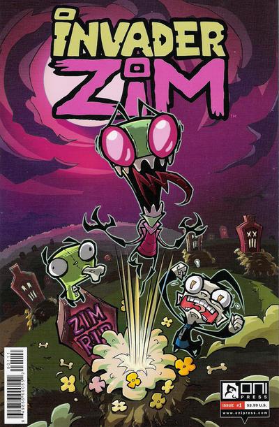 Invader Zim #1 (2015)