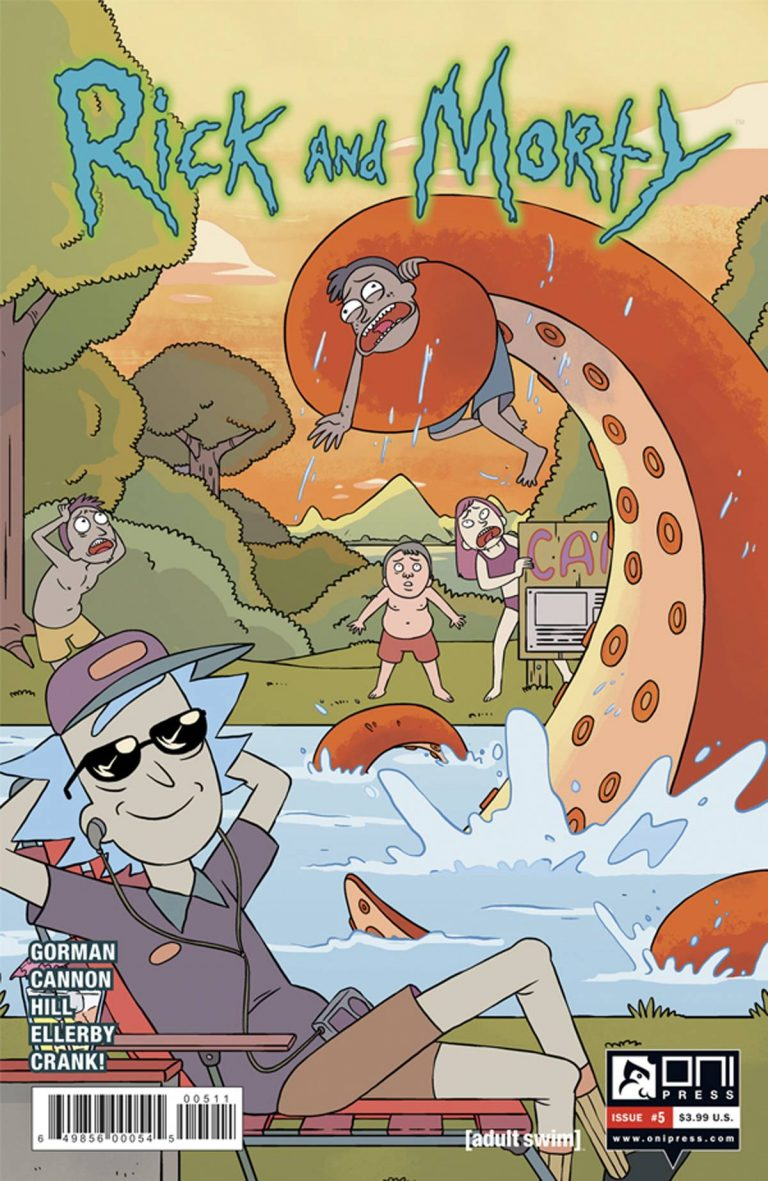 Rick and Morty #5 (2015)