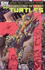Teenage Mutant Ninja Turtles #50 (2015)