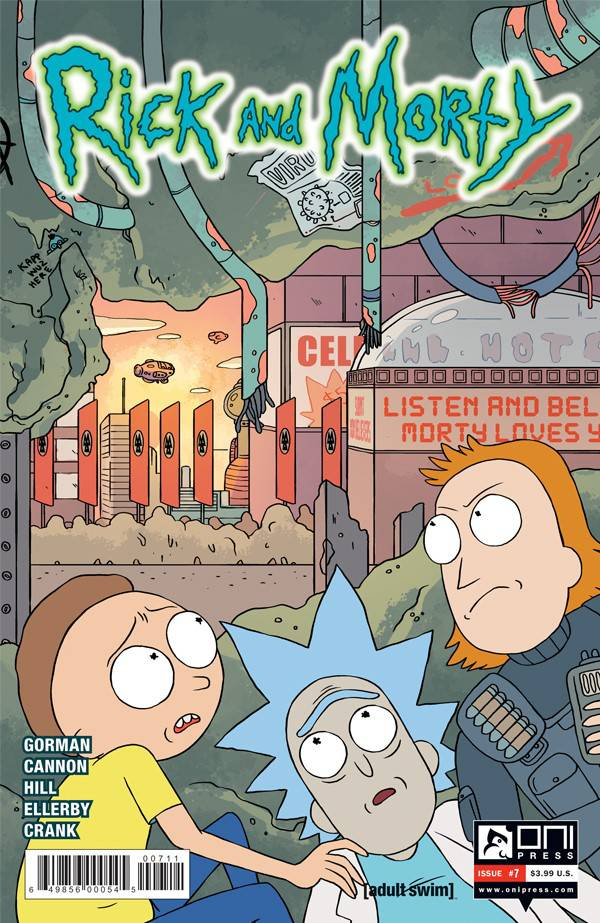 Rick and Morty #7 (2015)