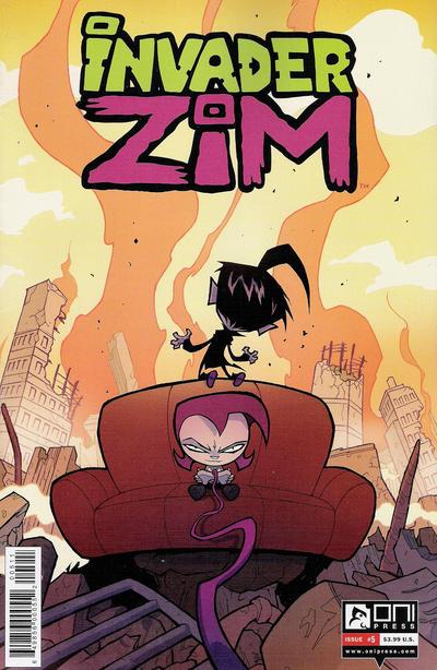 Invader Zim #5 (2015)