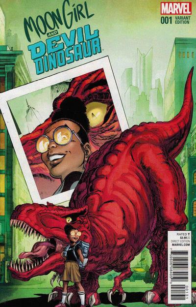 Moon Girl and Devil Dinosaur #1 (2015)