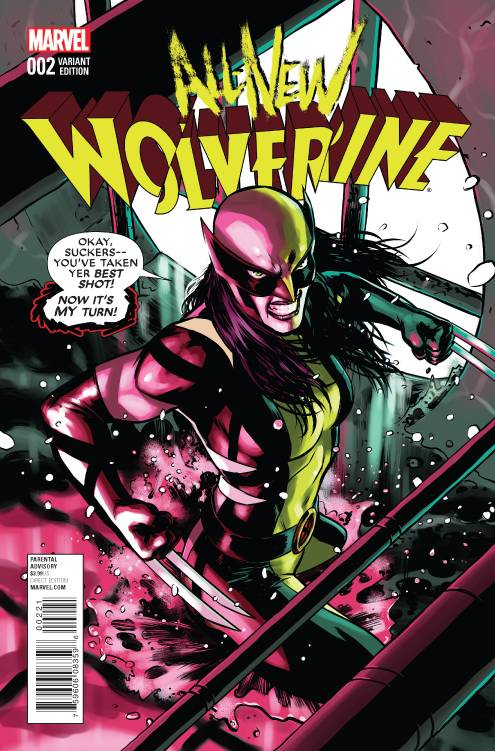 All-New Wolverine #2 (2015)