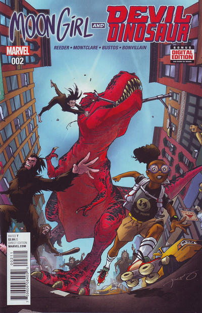 Moon Girl and Devil Dinosaur #2 (2015)