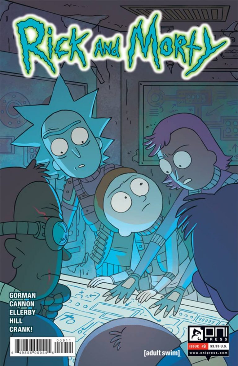 Rick and Morty #9 (2015)